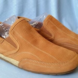 Hush Puppies Brown Leather Men's Shoes Size 10.5